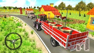 Farming Tractor Drive Simulator - Farm Cargo Transportation - Android Gameplay FHD
