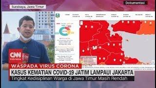 Kasus Kematian Covid-19 Jatim Lampaui Jakarta
