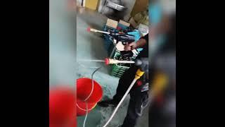 무선 충전 고압 세척기 세차기 분사기