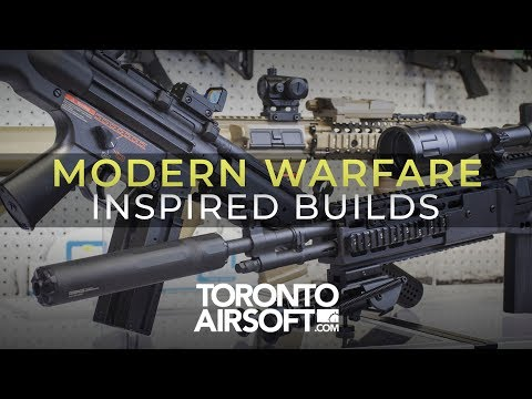 3 Simple And Affordable Modern Warfare Inspired Builds - TorontoAirsoft.com