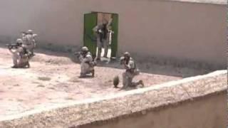 Afghan Special Forces Demonstrate Skills to Gen. Petraeus
