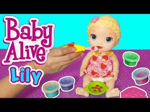 Baby Alive Lily ile Mama Eğlencesi | Oyuncak Açma Videoları | Oyuncak Butiğim