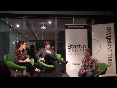 Startup Grind Adelaide hosts Oxygen Ventures (Atlanta Daniel & Ilya Frolov)