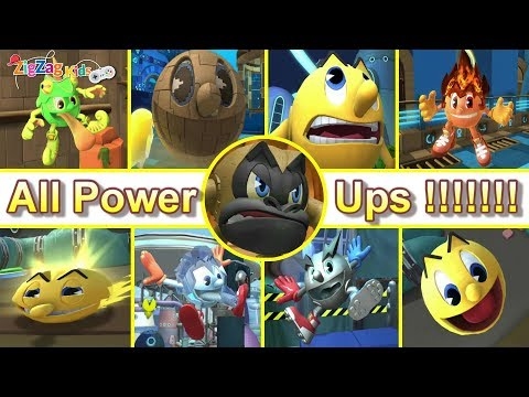 Pac Man The Ghostly Adventures 2 | All Power Ups | ZigZag