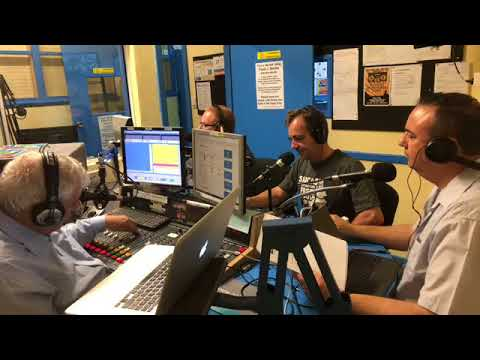 Behind the scenes of our live radio show on SA Election Night at WOW FM - The Adelaide Show Podcast