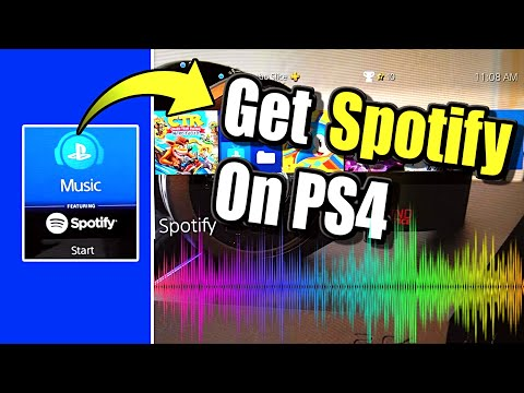 Get SPOTIFY on PS4 and Listen to MUSIC while GAMING (Best Method)