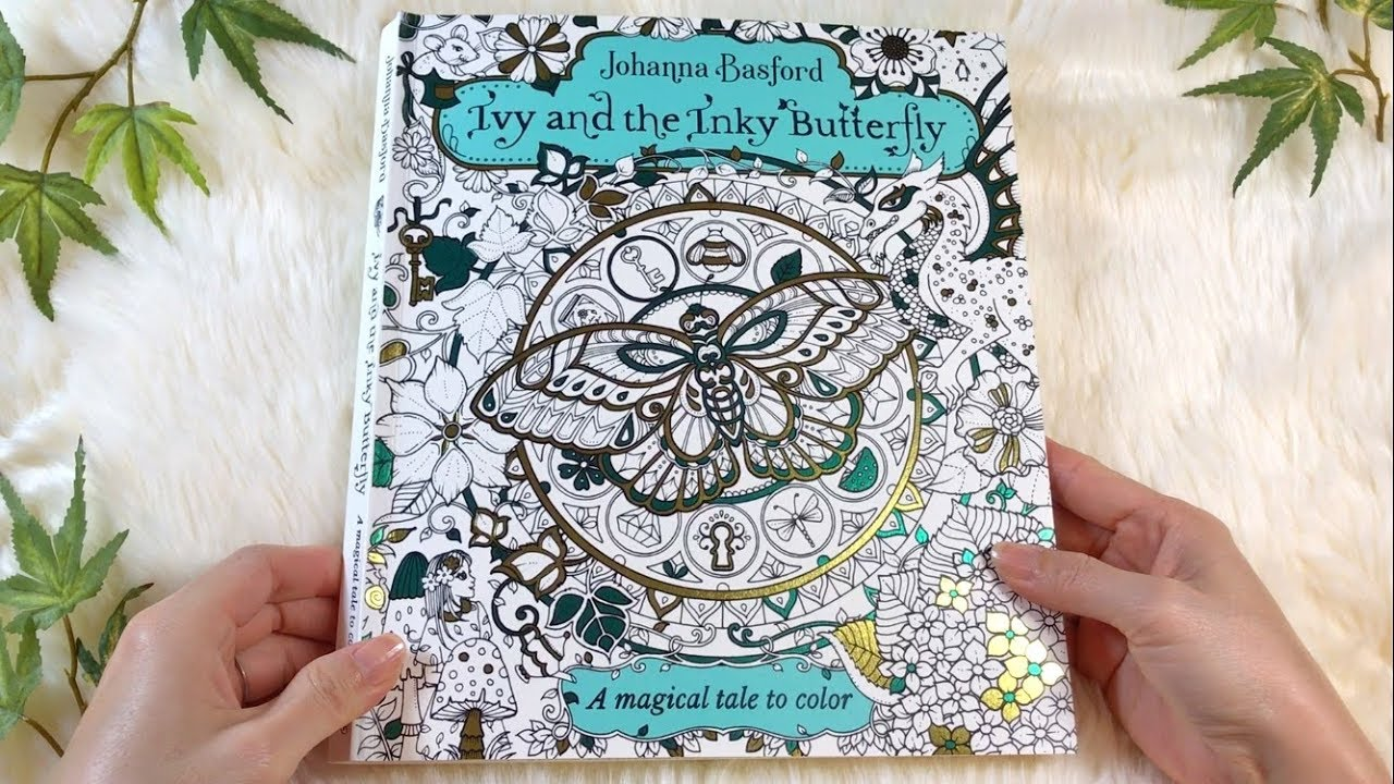 Flip Through IVY AND THE INKY BUTTERFLY