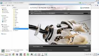 Install autocad electrical 2014