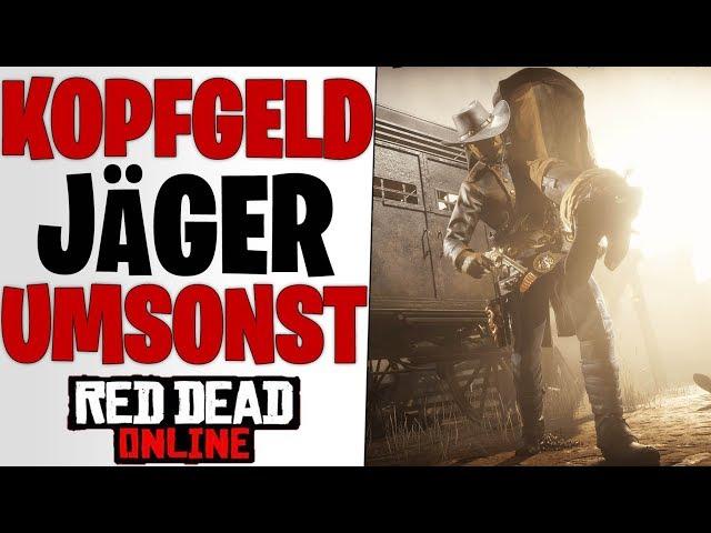 KOPFGELDJÄGER AB JETZT GRATIS - Neues Server Update & Zukunft | Red Dead Redemption 2 Online