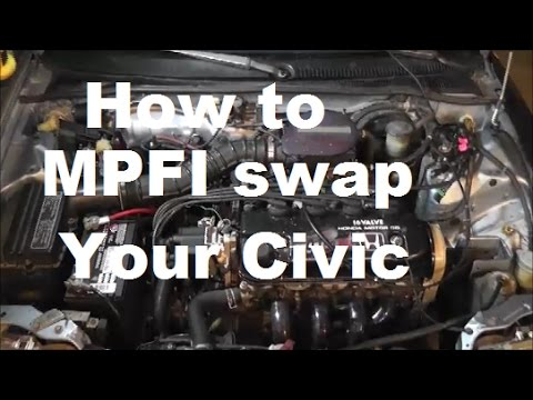 MPFI Swap How To Part 1