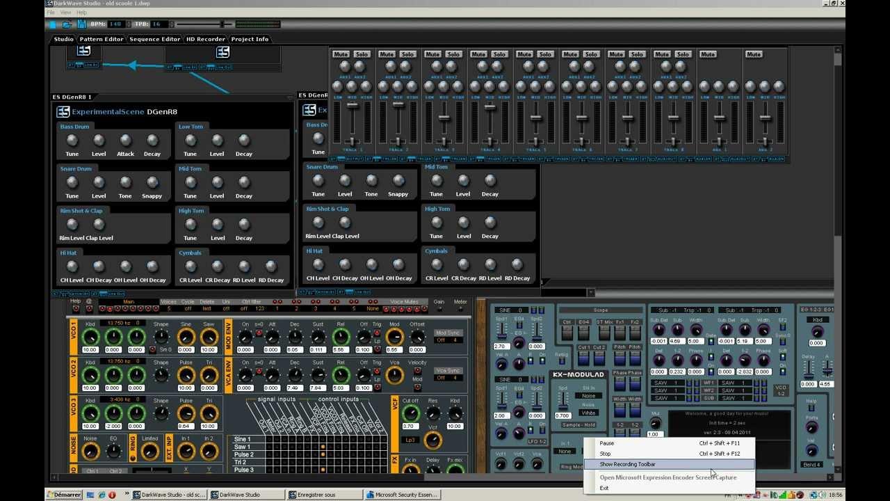 Cr er votre musique lectronique avec darkwave studio - Logiciel pour couper musique mp3 gratuit ...