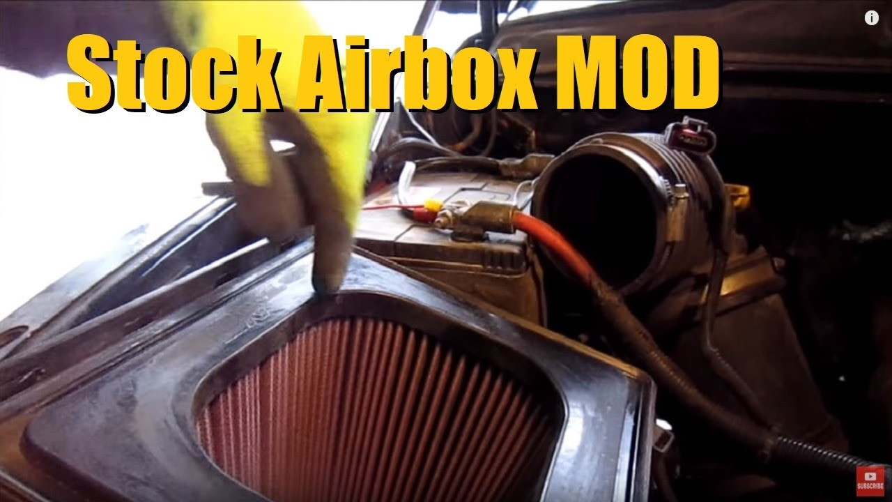 Ford 250 Fuel Filter How To Maximize Air Flow With A Stock Intake 2003 2007
