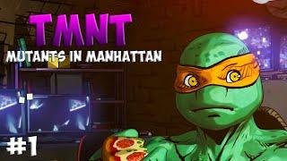 Черепашки-Ниндзя: Мутанты в Манхэттене. Прохождение #1 (TMNT: Mutants in Manhattan Gameplay 2016)