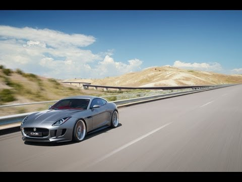 Jaguar C-X16 Concept Car | First Drive