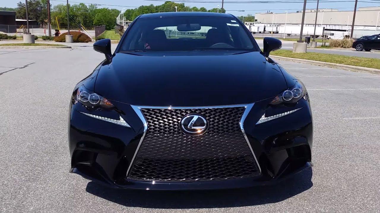 Lexus Is350 F Sport >> 2016 2017 Lexus Is350 Fsport Full Feature Review
