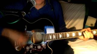 Matchbox ~ Carl Perkins - The Beatles ~ Acoustic Cover w/ Epiphone EJ-200CE BK & Bluesharp