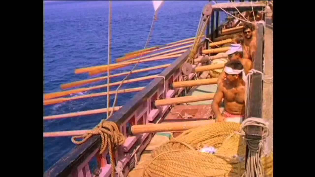 """IVLIA - Odyssey 1989-94 Древнегреческая Диера """"ИВЛИЯ"""" Экспедиция вокруг Европы"""