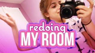 REDOING MY ROOM!   Baby Ariel