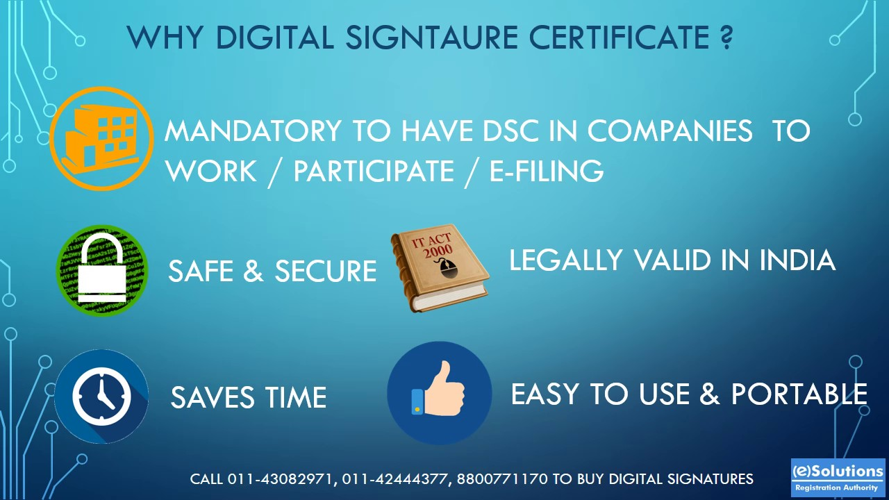 What Is Digital Signature Certificate Youtube