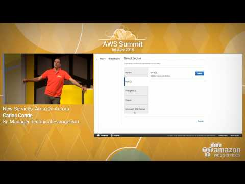 AWS Summit Tel Aviv 2015 | Amazon Aurora Demo