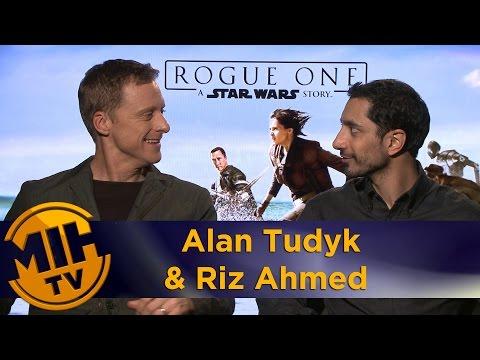 Alan Tudyk & Riz Ahmed Rogue One: A Star Wars Story Interview
