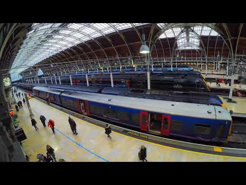 A day in the life of Paddington Station.