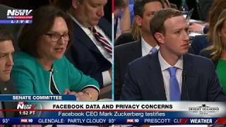 PART 2: Facebook CEO Mark Zuckerberg Testifies At Senate Judiciary Committee (FNN)