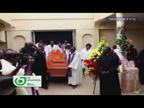JOURNAL STV 19H00 - (ADIEU, Mgr Jean-Marie Benoît BALA !!!) - 02 Août 2017 - Leila Reine NGANZEU