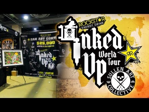 TATTOO CONVENTION COVERAGE - Rockstar Inked up Tour Philadelphia 1 of 3
