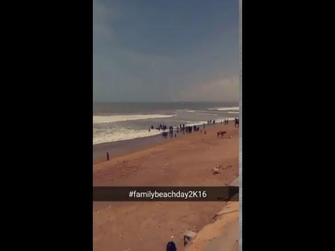 Sandspit beach view karachi