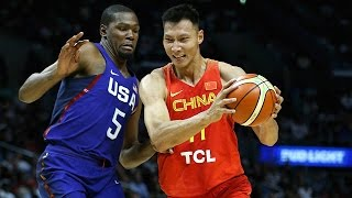 China @ USA July 24 2016 Olympic Basketball Exhibition FULL GAME HD 720p English