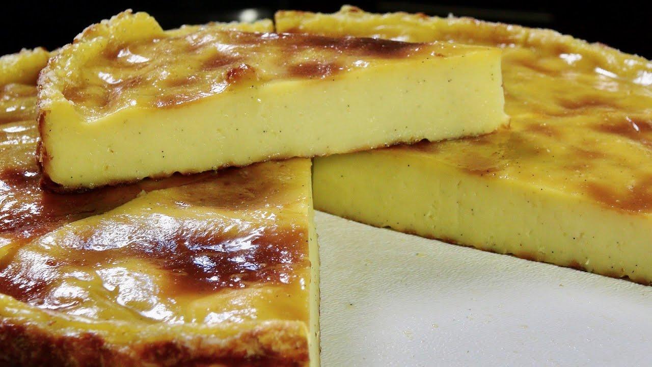 Parisian Flan French Custard Pie Bruno Albouze The