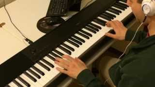 Blue Da Ba Dee Eiffel 65 Piano Cover Played By Ear Iron Man 3 Soundtrack