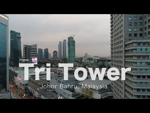 Tri Tower Johor Bahru - Progress as 23 March 2018