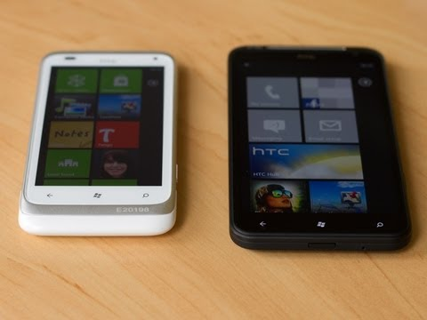 HTC Titan and Radar Hands-on