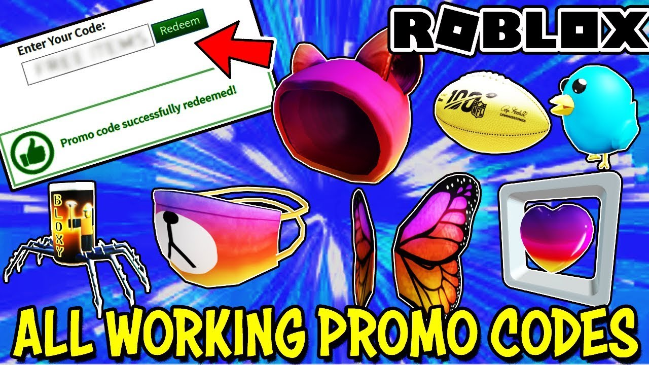 All Active And Working Promo Codes On Roblox February 2020