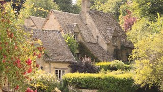 """Peaceful Relaxing Music, Beautiful Meditation Instrumental Music """"English Cottage""""  By Tim Janis"""