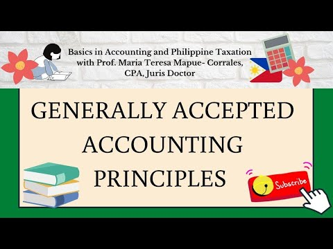 LESSON NO. 2 - Generally Accepted Accounting Principles