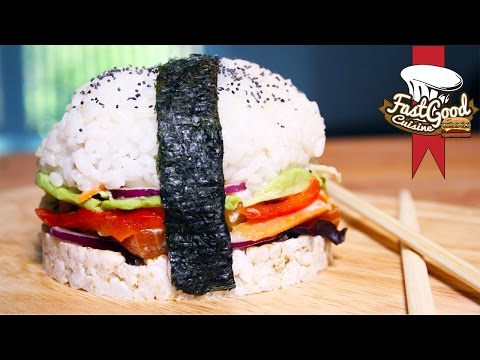 Recette du Sushi Burger !