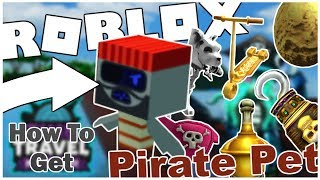 HOW TO GET THE PIRATE PET + ALL ARTIFACTS IN SKULL SANCTUARY IN TIME TRAVEL ADVENTURES! [ROBLOX]