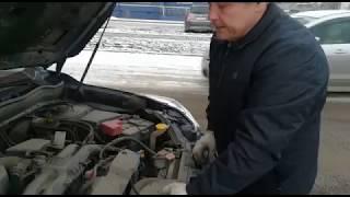 Раскоксовка поршневых колец Subaru Forester