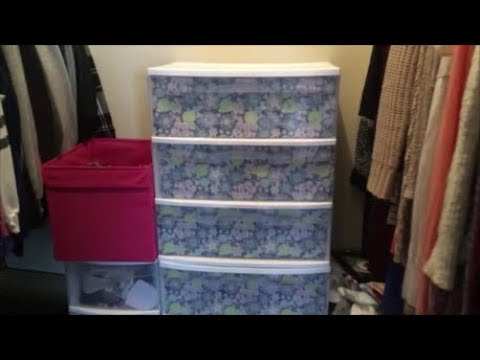 DIY Wrapping Paper Drawers