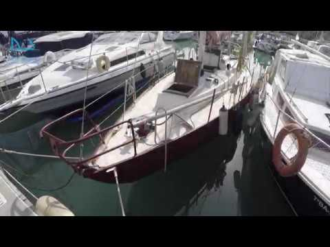 Alan Buchacan 37' Sloop Steel Round Bilge for sale in Barcelona