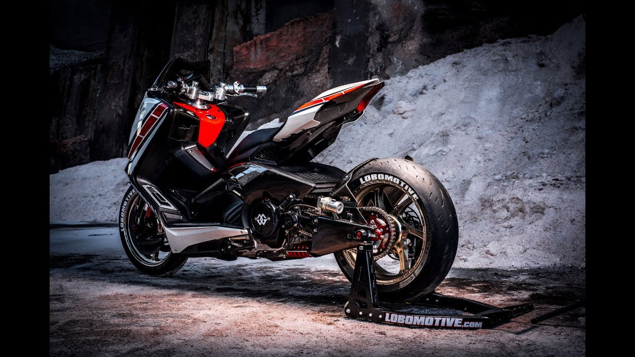 ⭐️⭐️ Yamaha TMax 530 2018 Performance by Lobomotive - CustomBike Review