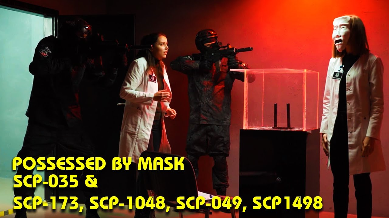Download Possessed By Mask SCP-035 & SCP-173, SCP-1048, SCP-049, SCP-1498