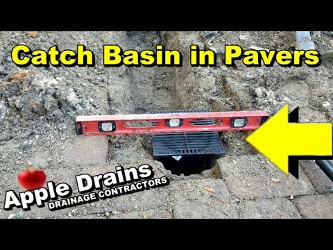How To Add a Catch Basin in Pavers for Best Drainage