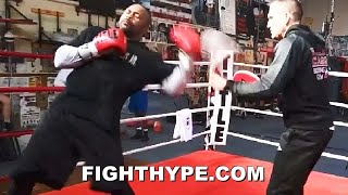 "ROY JONES JR. ""KILL SHOT"" MIKE TYSON TRAINING LEAK; UNLEASHES ""OVERKILL"" FOR TYSON BOB & WEAVE"