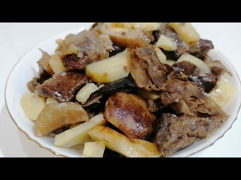 Как приготовить шампиньоны на сковороде - рецепт с фото