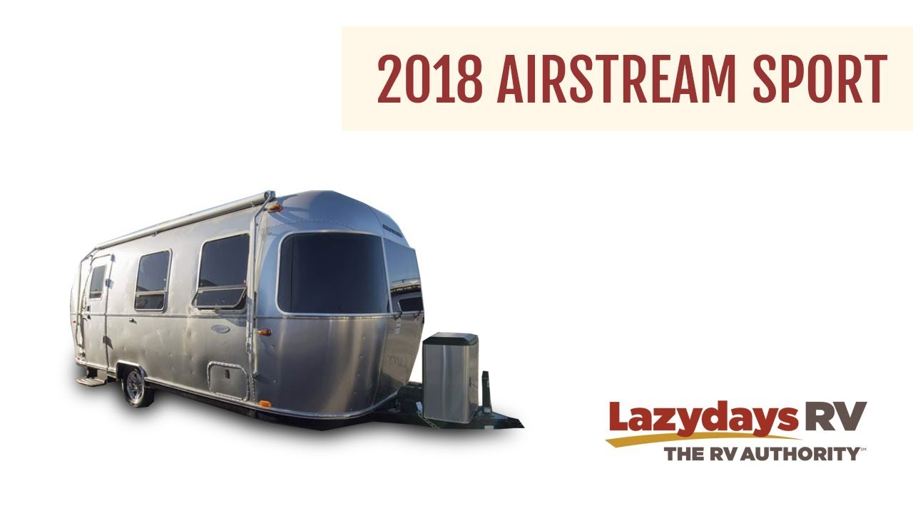 2018 Airstream Sport Video Tour at Lazydays RV Dealership