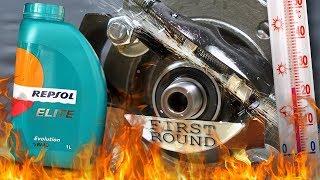 Repsol Elite Evolution 5W40 Jak skutecznie olej chroni silnik? 100°C